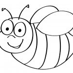 Bumblebee Coloring Pages Cartoon