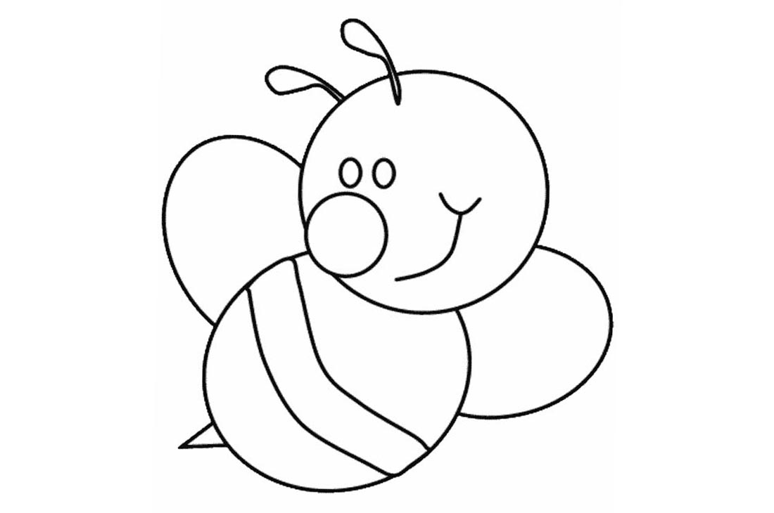 Bumblebee Coloring Pages printable for free
