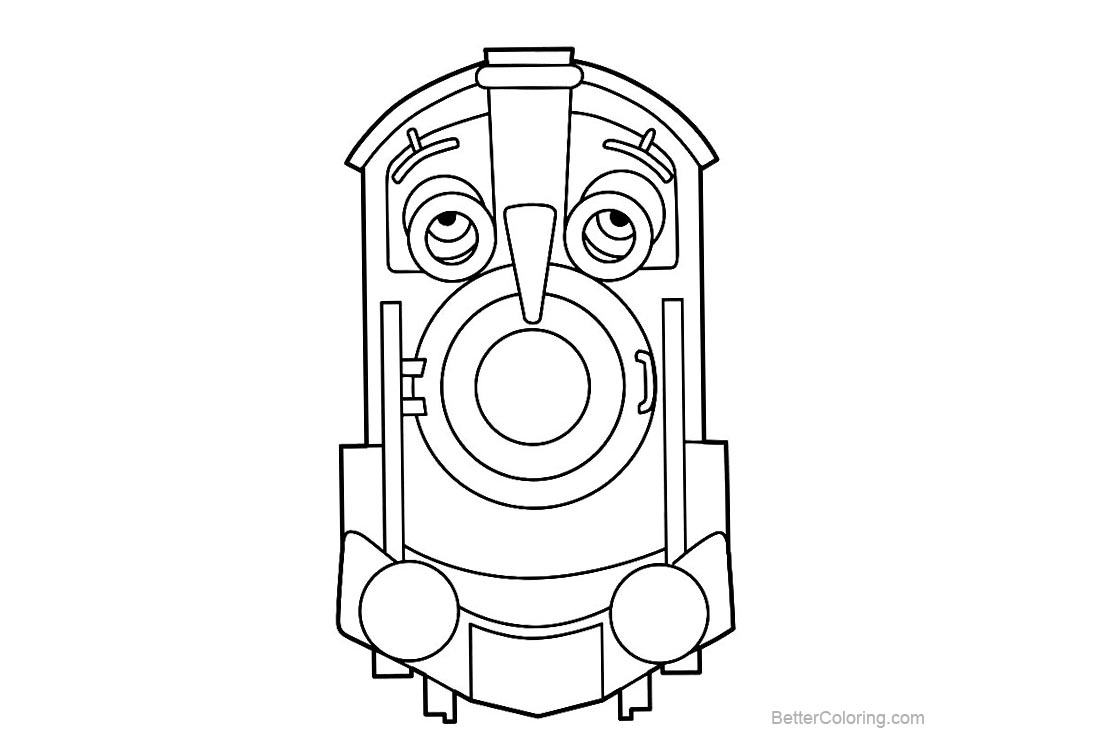 Free Chuggington Characters Coloring Pages printable
