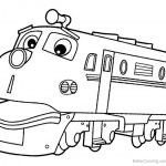 Wilson Train from Chuggington Coloring Pages - Free ...