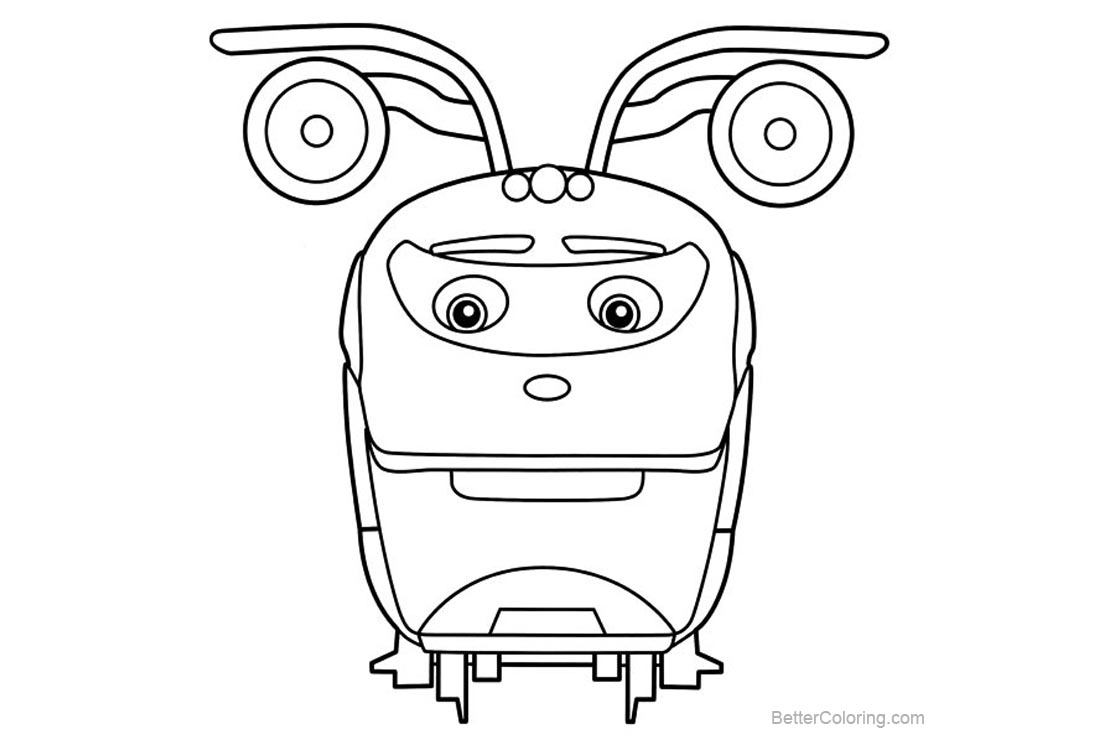 Free Chuggington Coloring Pages Line Drawing printable