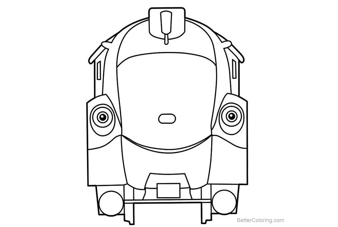 Free Chuggington Coloring Pages Olwin printable