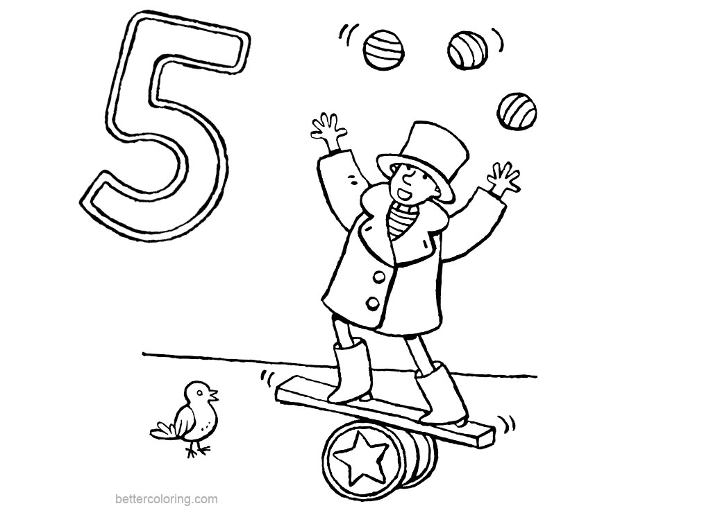 Circus Coloring Pages Line Art Free Printable Coloring Pages