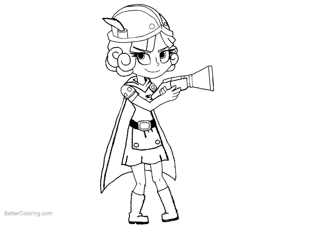 Free Clash Royale Coloring Pages printable