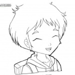 Code Lyoko Coloring Pages Aelita
