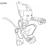 Code Lyoko Coloring Pages Odd Fan Art by feareffectinferno
