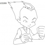 Code Lyoko Coloring Pages Odd by PrinceVegeta76