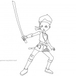 Code Lyoko Coloring Pages Ulrich Stern