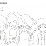 Code Lyoko Coloring Pages Gang Season 4