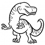 Cool Dinosaurs Coloring Pages