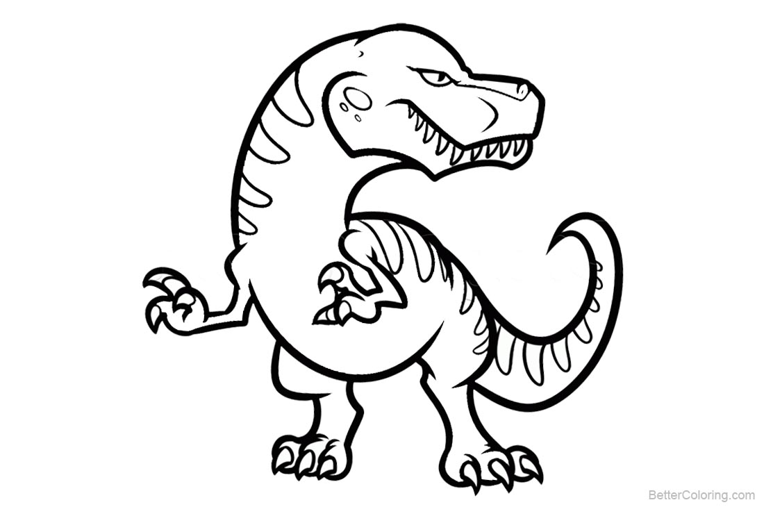 cool dinosaurs coloring pages free printable coloring pages. Black Bedroom Furniture Sets. Home Design Ideas