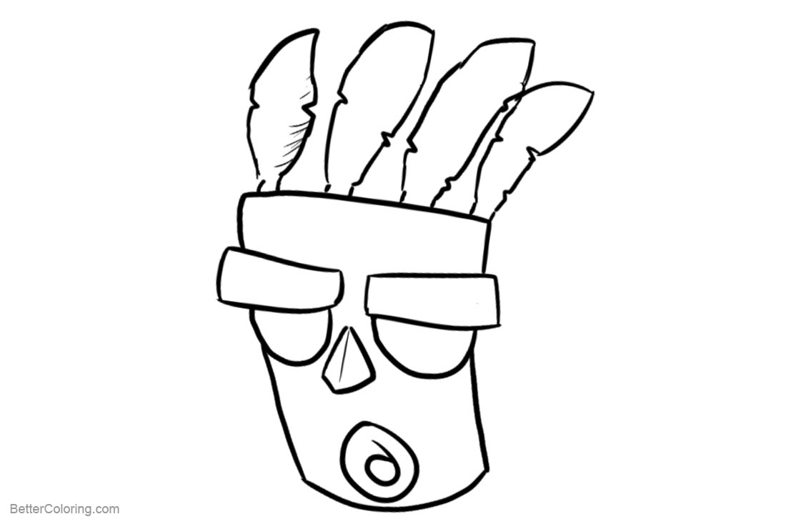 Crash Bandicoot Coloring Pages