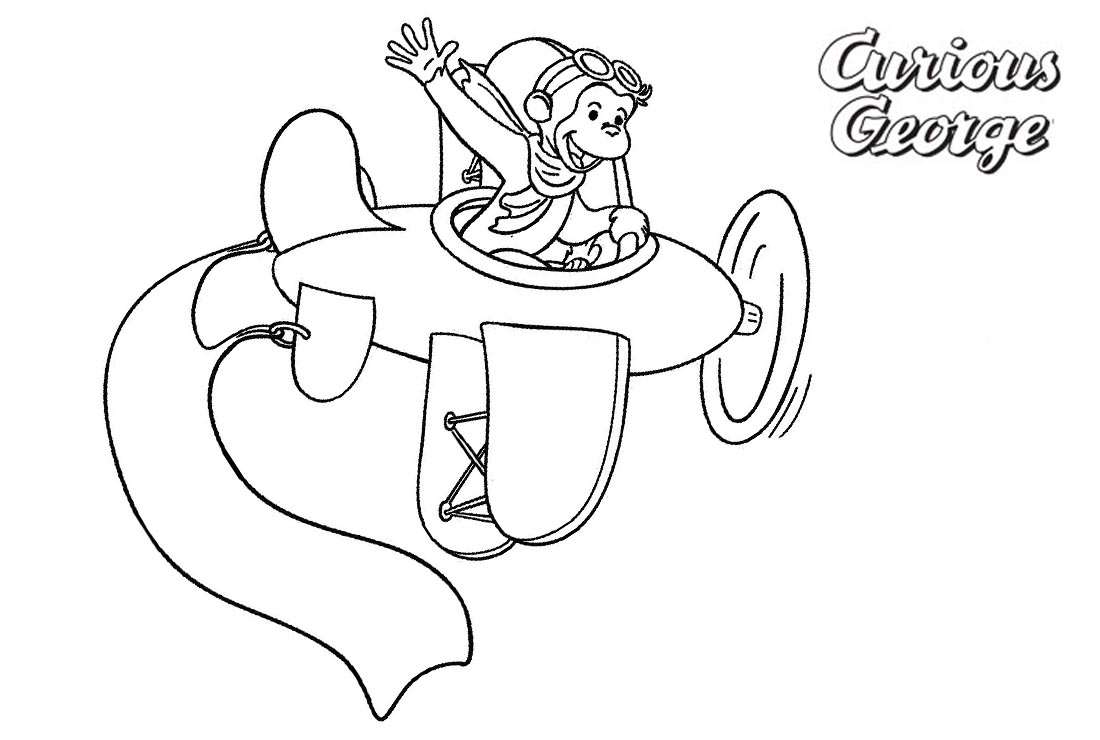 Curious Gee Coloring Pages Drive