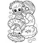 Cute Food Coloring Pages Free Printable Coloring Pages
