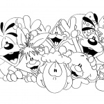Diddl Coloring Pages Characters Lineart
