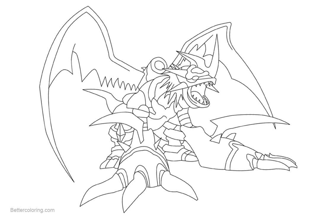 Free Digimon Coloring Pages Kabuterimon by Dragon rage2 printable