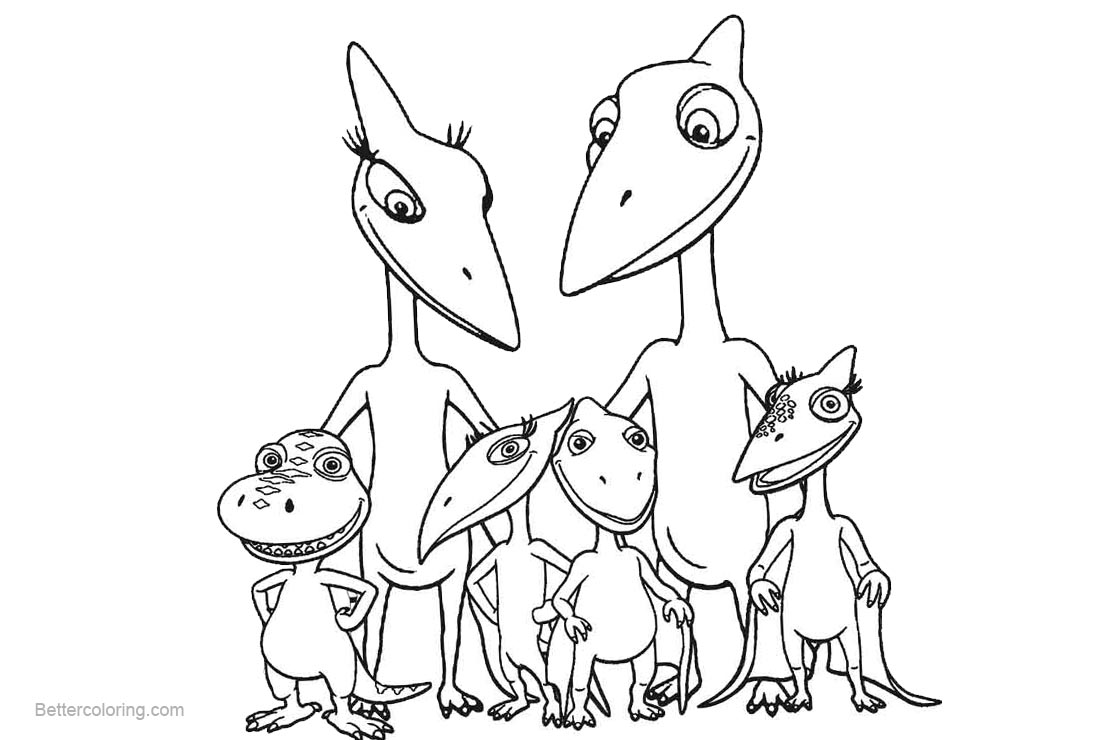 dinosaur train coloring pages family free printable coloring pages. Black Bedroom Furniture Sets. Home Design Ideas