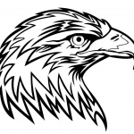 Eagle Coloring Pages Head