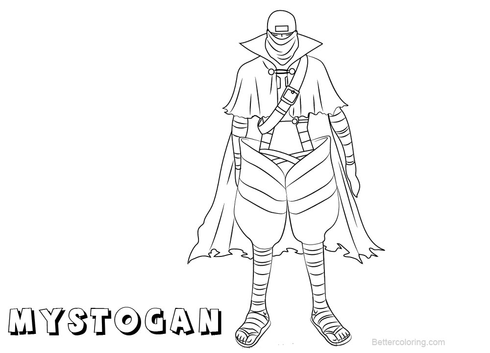 Free Fairy Tail Coloring Pages Mystogan printable