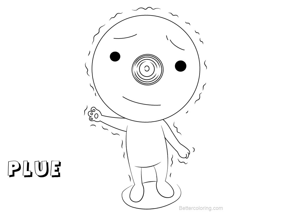 Free Fairy Tail Coloring Pages Plue printable