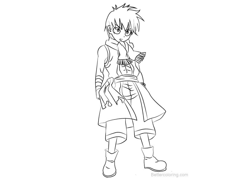 fairy tail coloring pages for adults | Fairy Tail Coloring Pages Romeo Conbolt - Free Printable ...