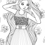 Fancy Baylee Jae Coloring Pages