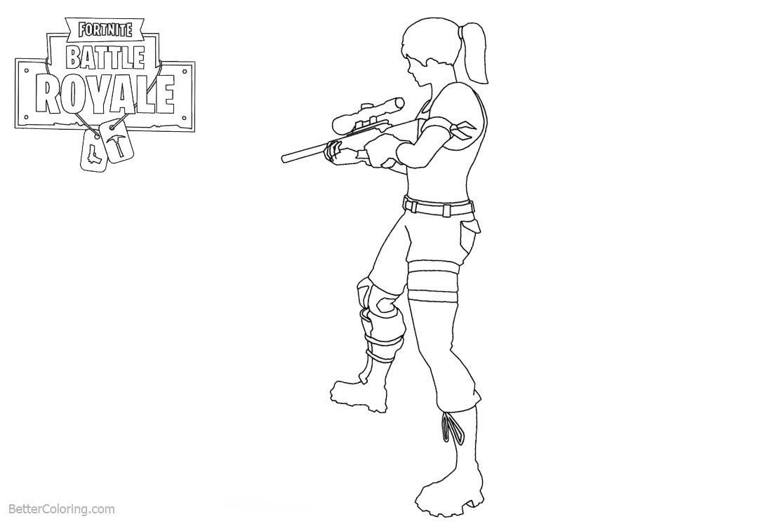 Fortnite Coloring Pages Characters Master Grenadier Free
