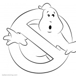 Ghostbusters Coloring Pages Free Printable Coloring Pages