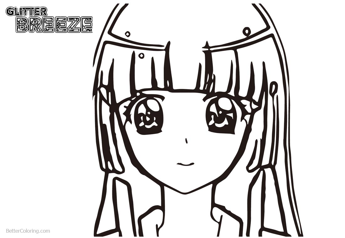 Glitter Force Girls Coloring Pages Precure printable for free