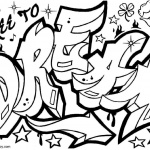 Graffiti Coloring Pages Letters Dream Drawing
