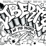 Graffiti Coloring Pages Liberty