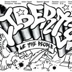 Graffiti Coloring Pages Liberty
