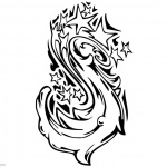 Graffiti Coloring Pages Star Tattoo Drawing