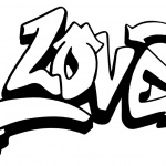 Graffiti Letters Love Coloring Pages