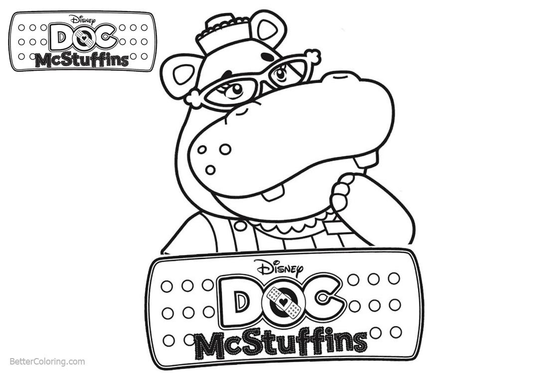 Hallie from Doc McStuffins Coloring Pages - Free Printable ...