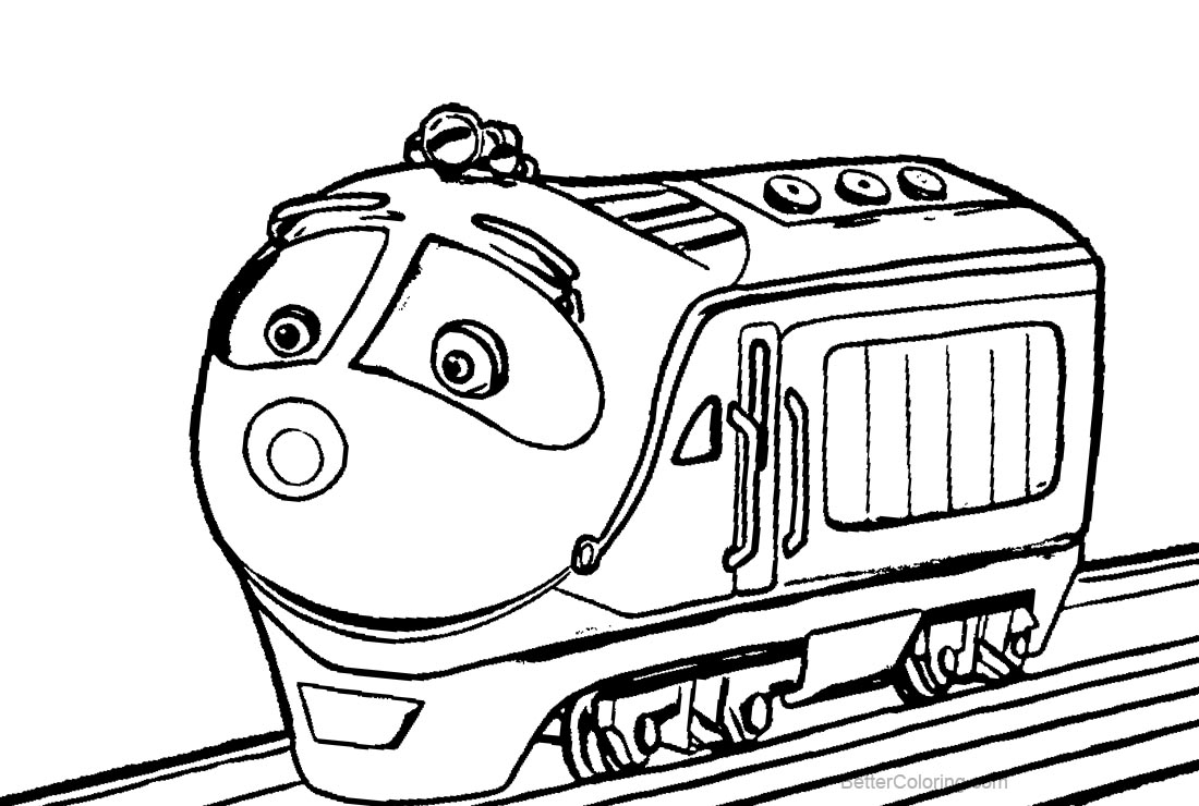 Koko from Chuggington Coloring Pages - Free Printable Coloring Pages