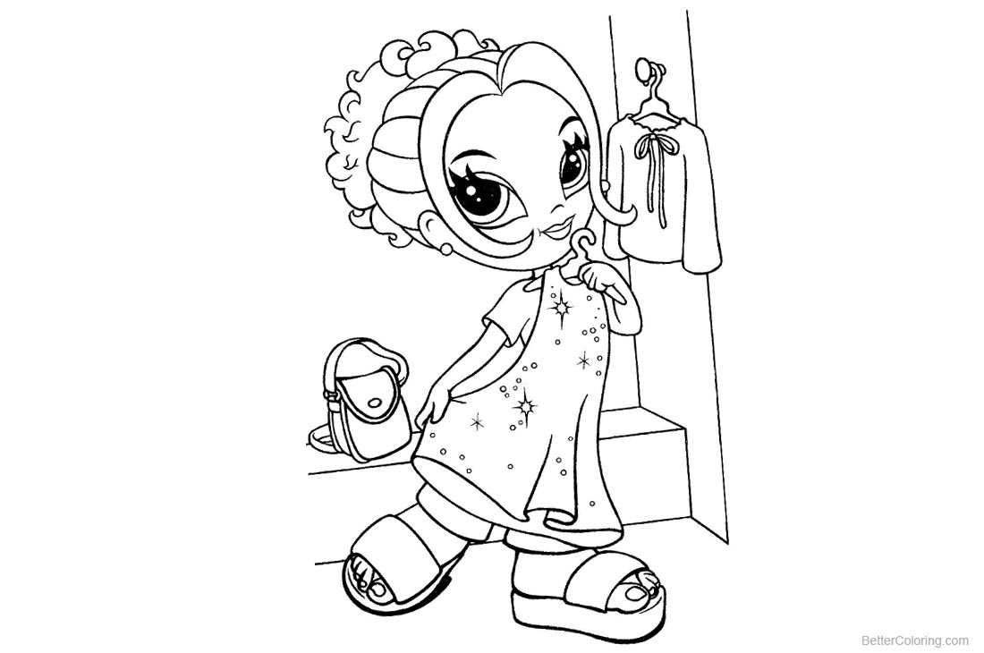 Lisa Frank Coloring Pages Beautiful Clothes - Free Printable ...