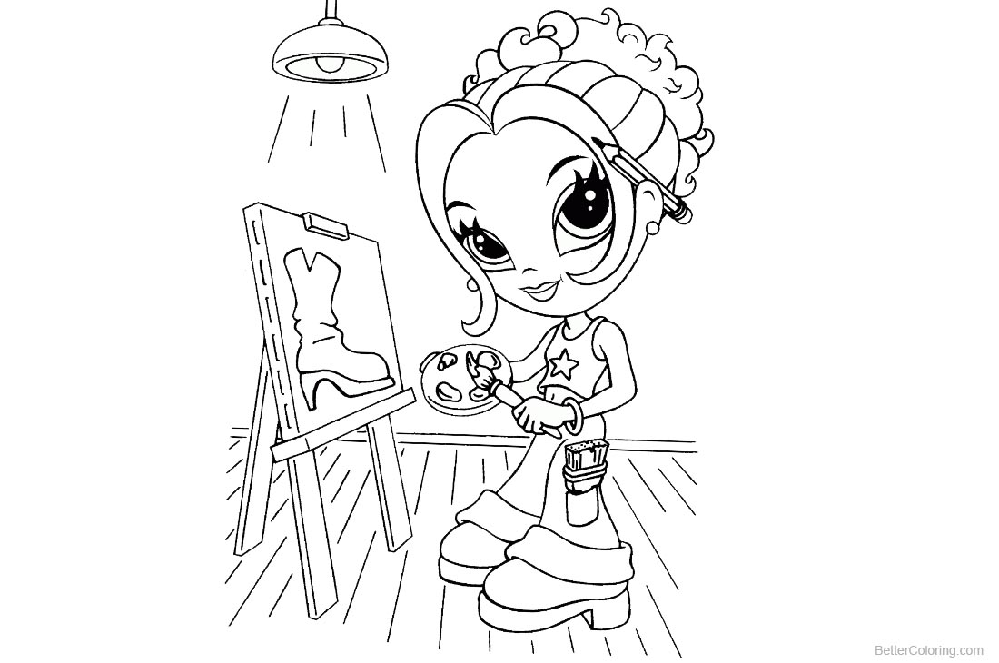 Lisa Frank Coloring Pages Line Art - Free Printable Coloring Pages