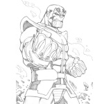 Avengers Infinity War Coloring Pages Thor Drawing - Free ...