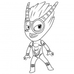 PJ Masks Coloring Pages Firefly