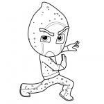 PJ Masks Coloring Pages Night Ninja