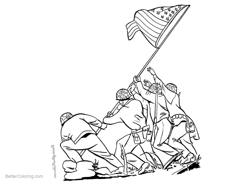 Free Patriotic Coloring Pages printable