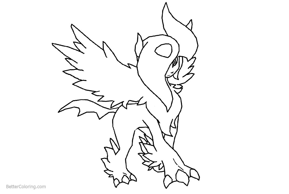 Pokemon Coloring Pages Eevee Evolutions Free Printable