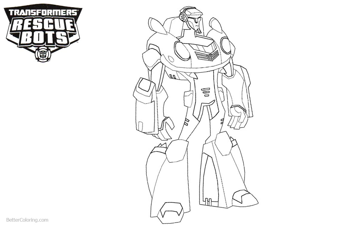 Powerful Transformers Rescue Bots Coloring Pages printable for free