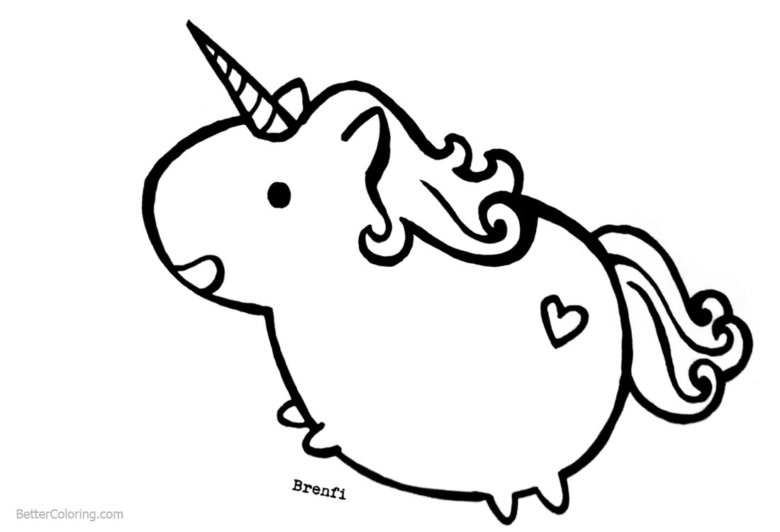 Pusheen Unicorn Coloring Pages Free Printable Coloring Pages