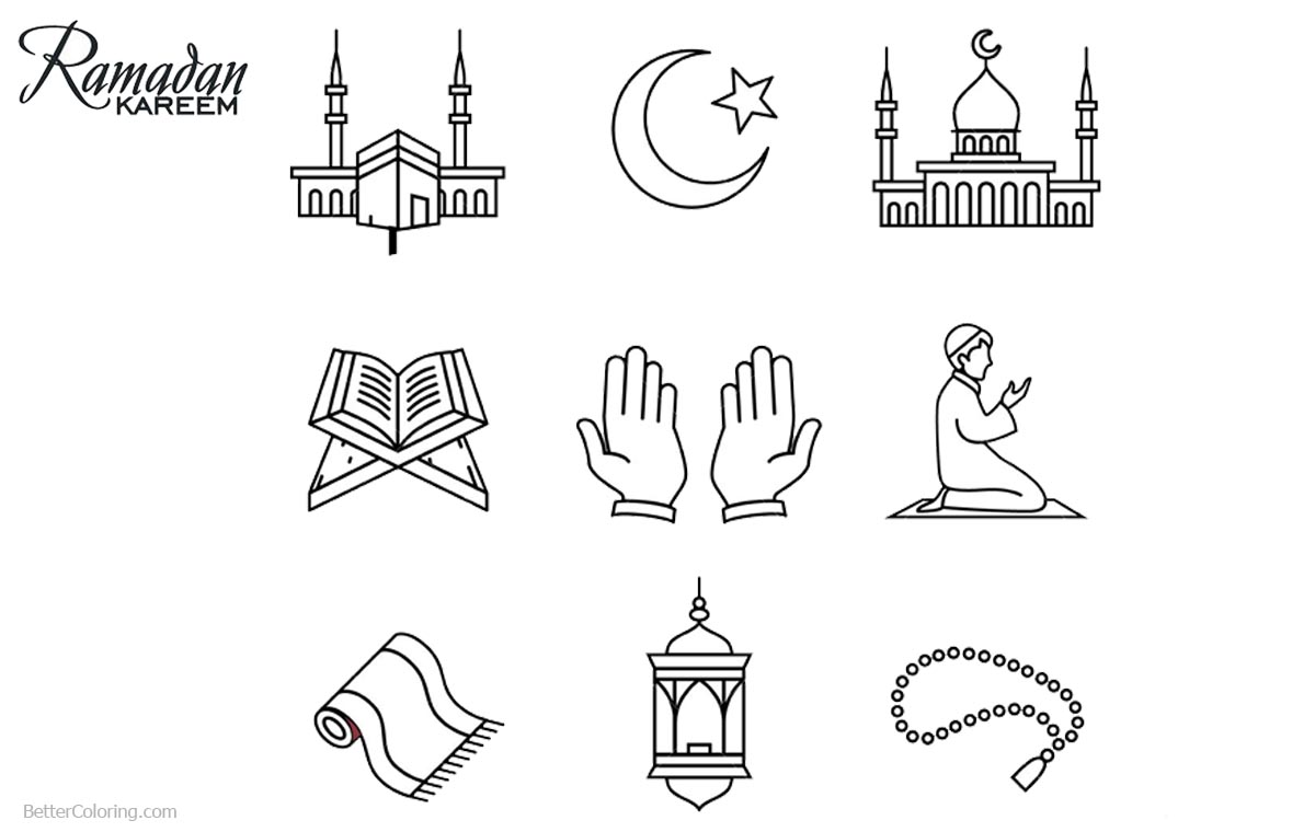 Printable Ramadan Coloring Pages Bltidm