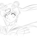 Sailor Moon Coloring Pages Lineart