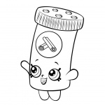 Shopkins Coloring Pages Cinnamon