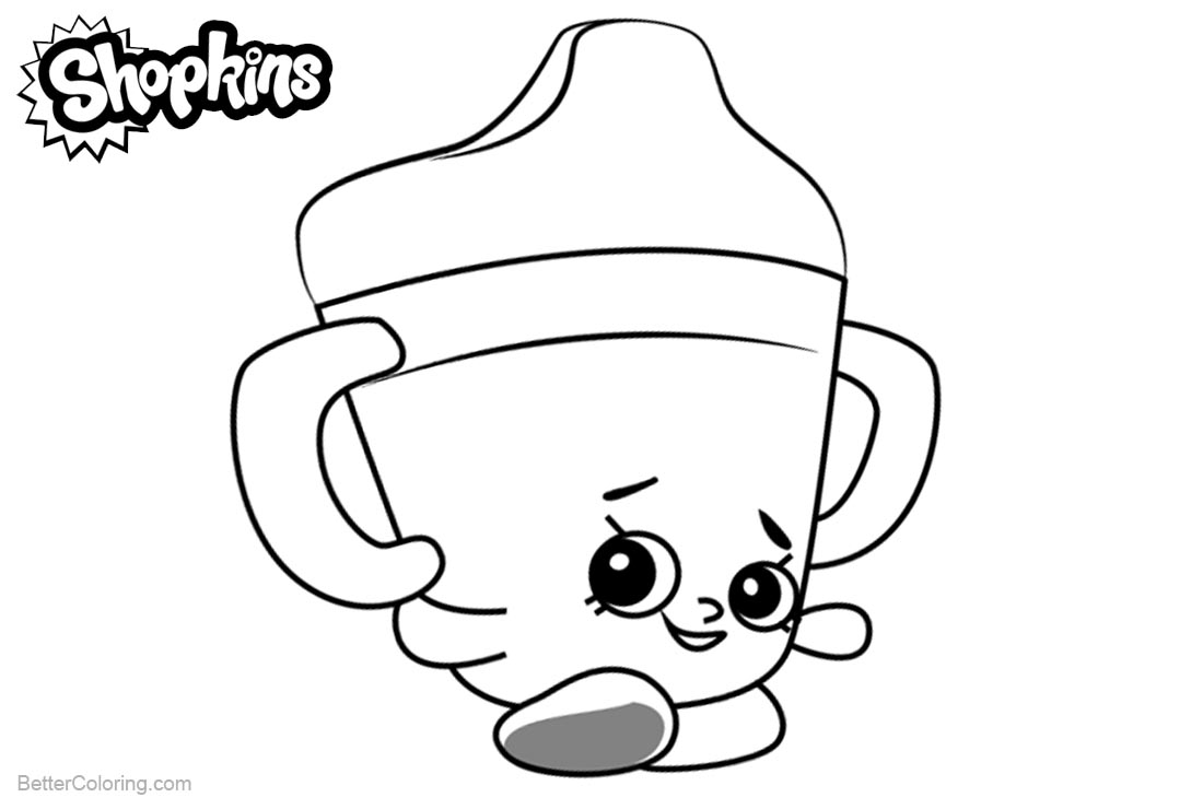 Shopkins Coloring Pages Silly Chilli printable for free