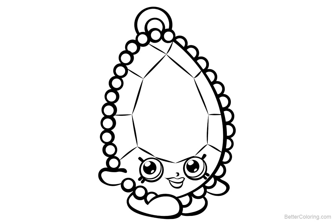 Shopkins Coloring Pages printable for free